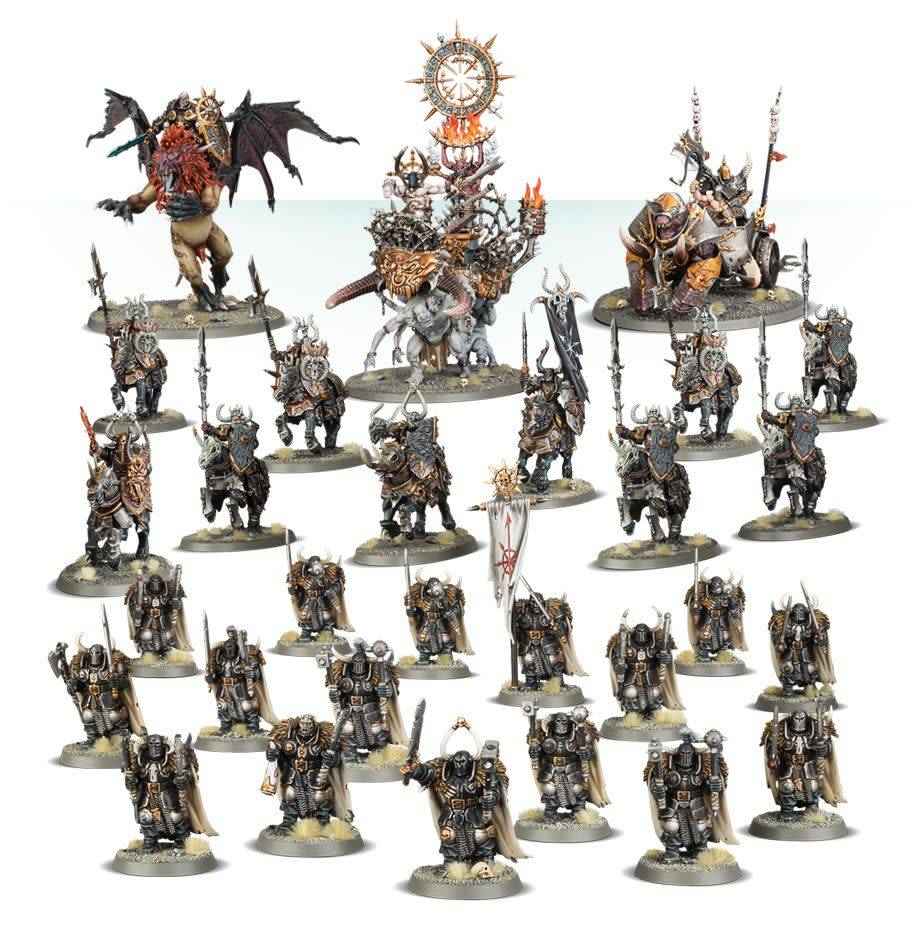 Slaves to Darkness Godsworn Warband Battleforce
