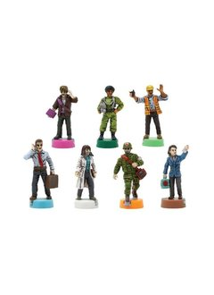 Pandemic 10th Anniversary Edition Painted Figures