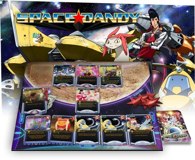 Space Dandy: Galactic Deck-Building Game Deluxe Limited Edition