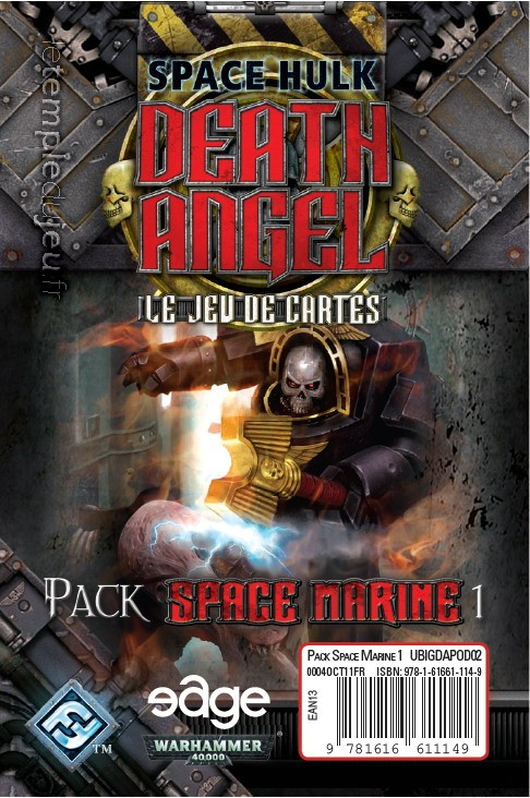 Space Marine Pack 1: Death Angel ext