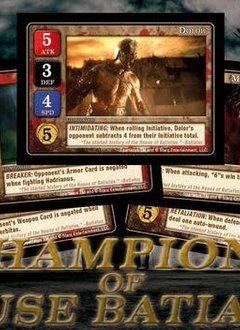 Spartacus: Champions of House Batiatus Card Set