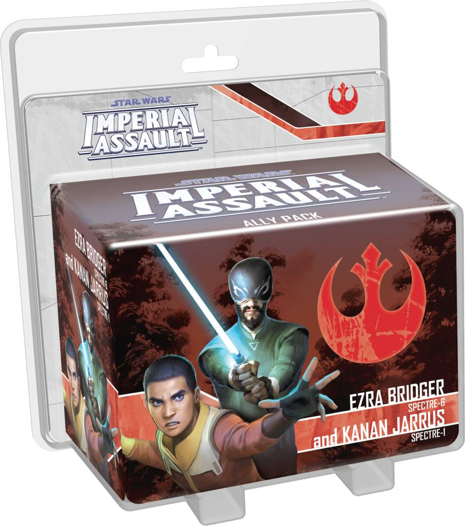 Star Wars Imperial Assault - Ezra Bridger and Kanan Jarrus
