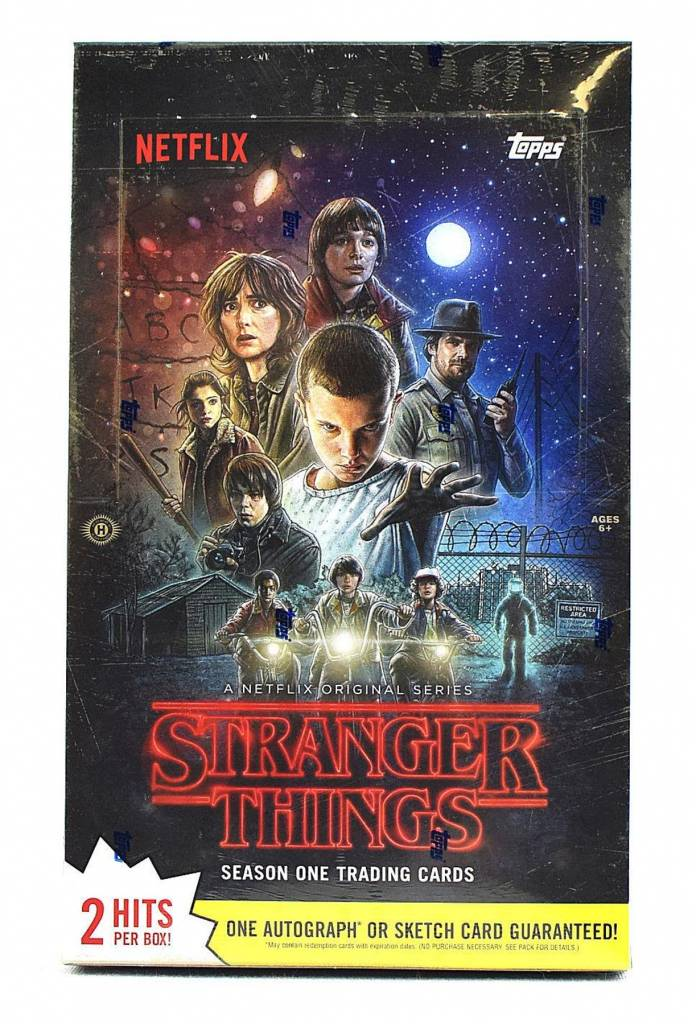 Stranger Things Season 1 Trading Cards Box