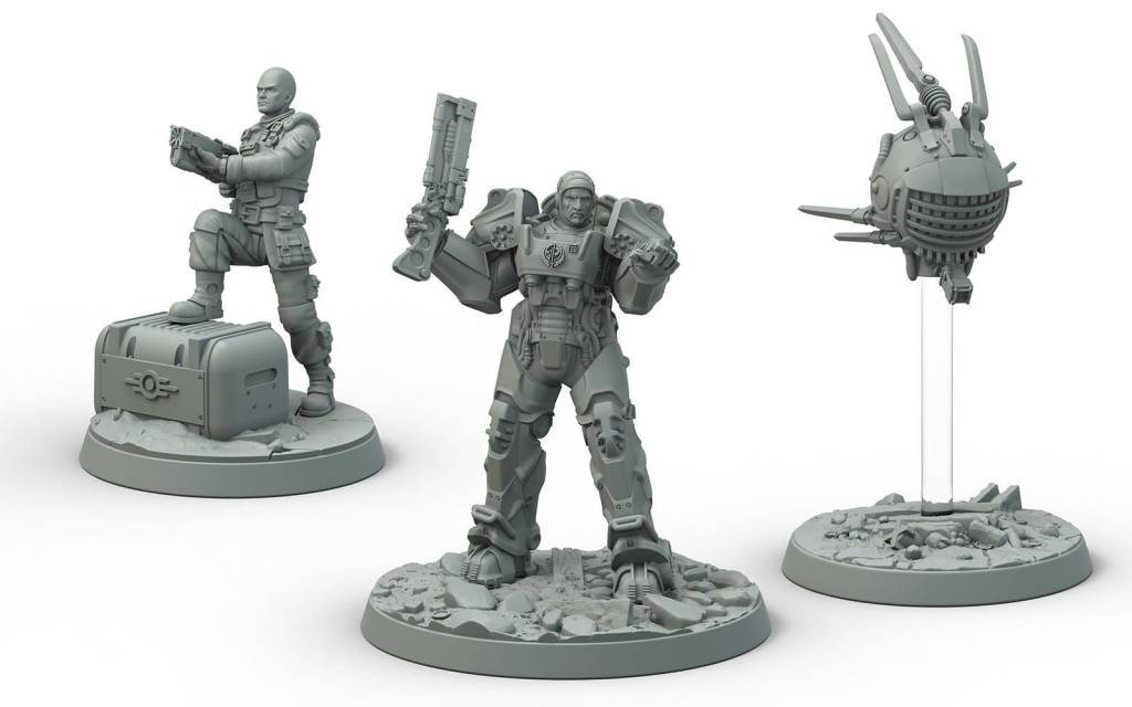 Fallout Brotherhood of Steel Captain Cade/Danse Set