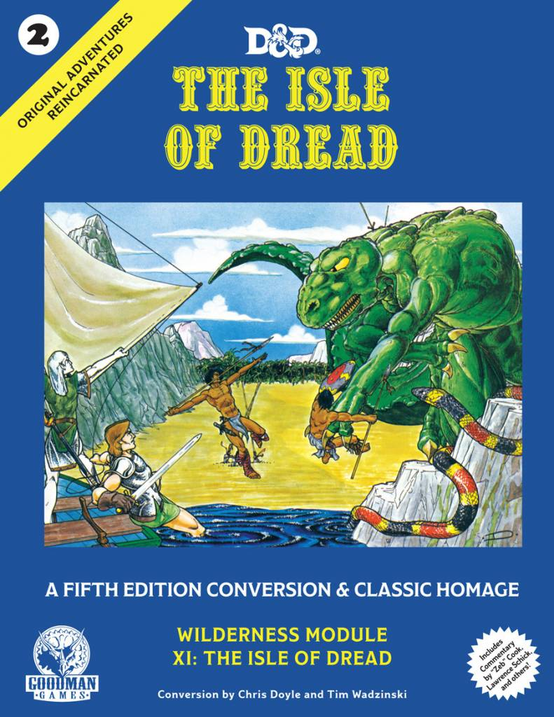 Original Adventures Reincarnated - Isle of Dread