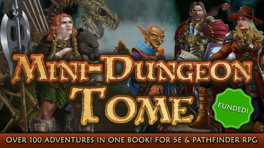 D&D Mini-Dungeon Tome 5th Edition