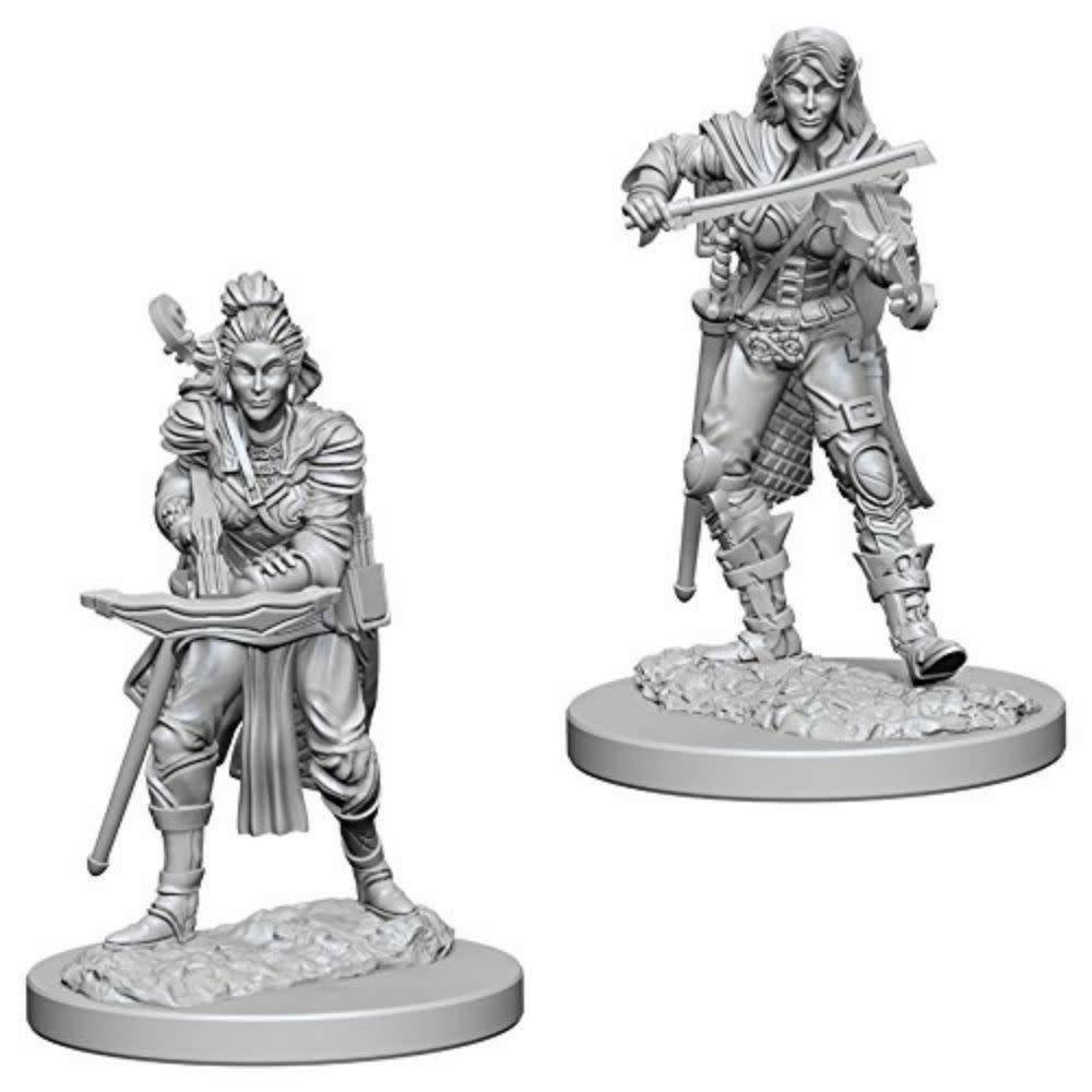 PF Unpainted Minis: Elf Female Bard