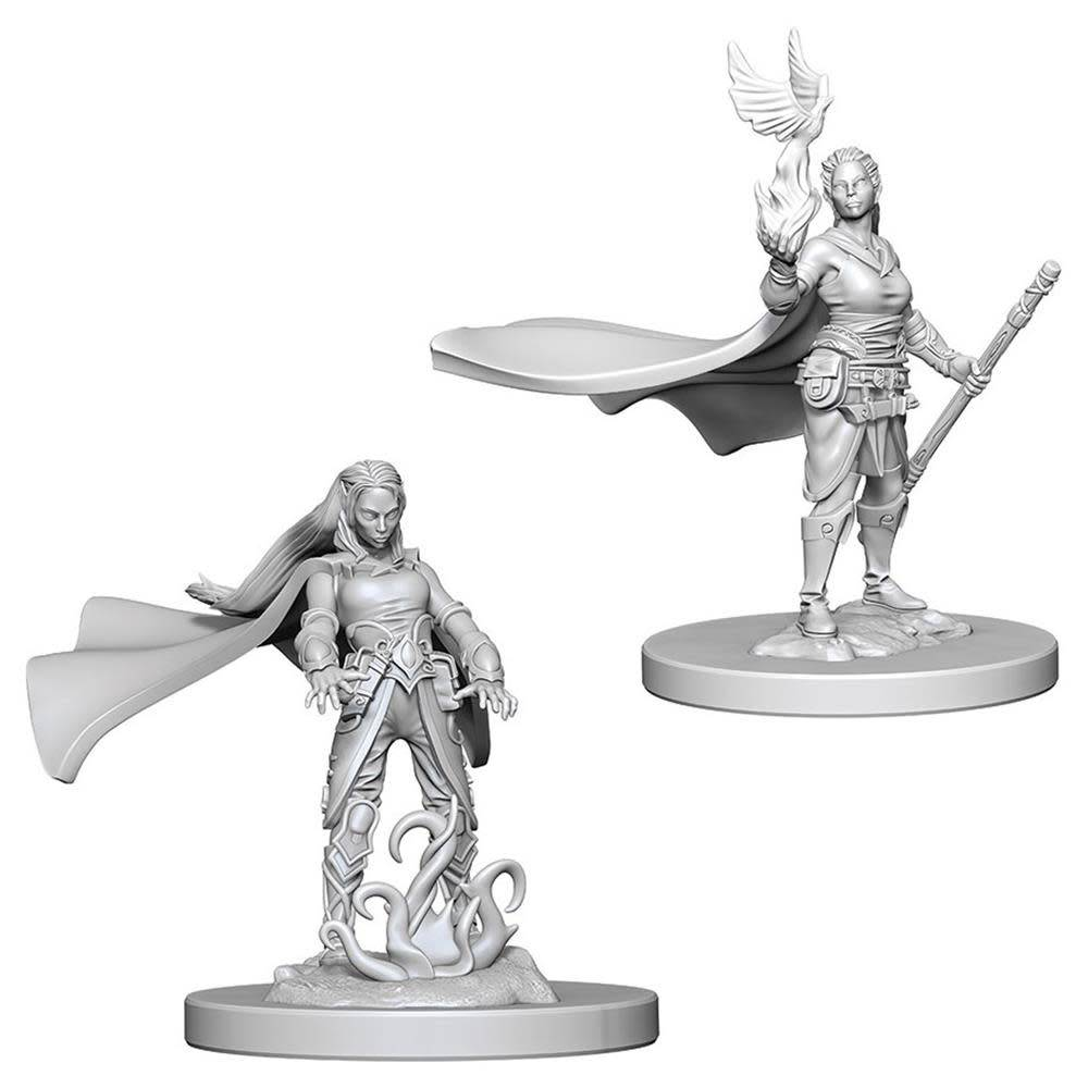 DND Unpainted Minis: Elf Female Druid