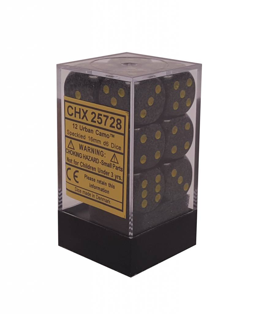 25728 Speckled 12D6 Urban Camo