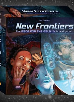 New Frontiers - Race for the Galaxy Board Game