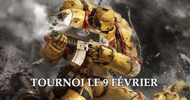 Tournoi de Warhammer 40k
