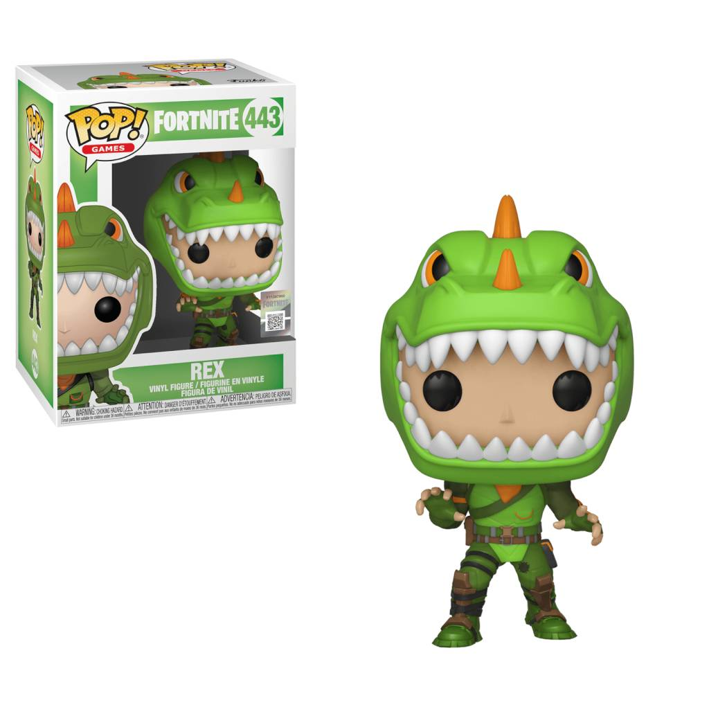 POP VG Fortnite Rex