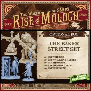 The World of SMOG: Rise of Moloch KS: Baker Street