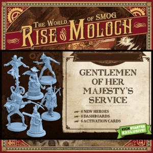 The World of SMOG: Rise of Moloch KS: Gentlemen of her Majesty's CARDS ONLY (4 USD)