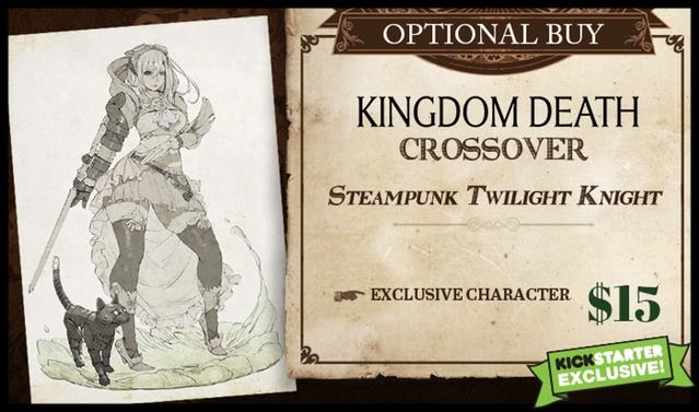The World of SMOG: Rise of Moloch KS: Kingdom Death Steampunk Twilight Knight Cross-over