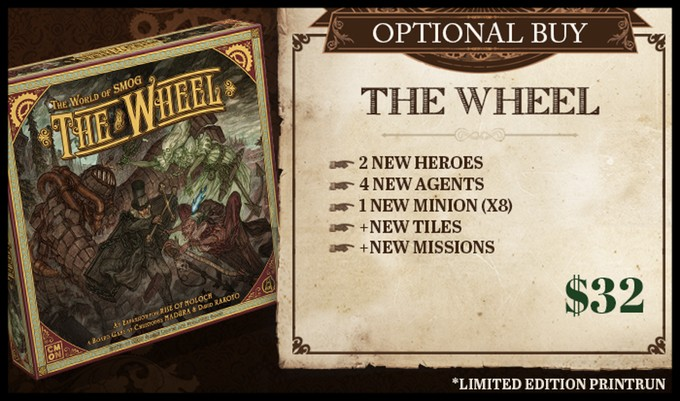 The World of SMOG: Rise of Moloch KS: The Wheel Exp