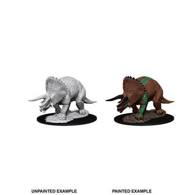 Triceratops D&D Unpainted Mini
