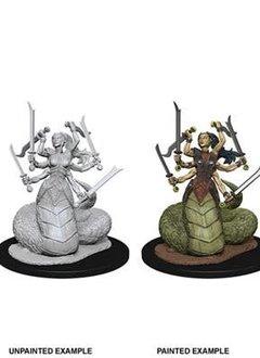 Marilith D&D Unpainted Mini