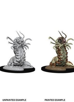 Carrion Crawler D&D Unpainted Mini