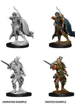 Male Elf Rogue D&D Unpainted Mini