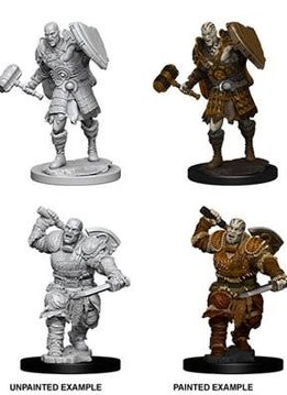 Male Goliath Fighter D&D Unpainted Mini