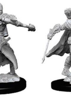 Male Half-Elf Ranger D&D Unpainted Mini