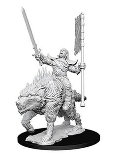 Orc on Dire Wolf PF Unpainted Mini
