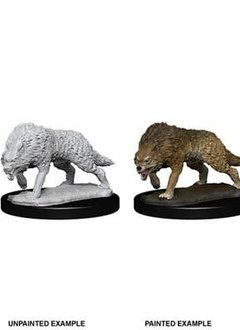 Timber Wolves WizKids Unpainted Mini