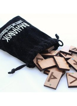 FATE OF THE NORNS - CUSTOM RUNE STONES (WOOD) VANCOUVER