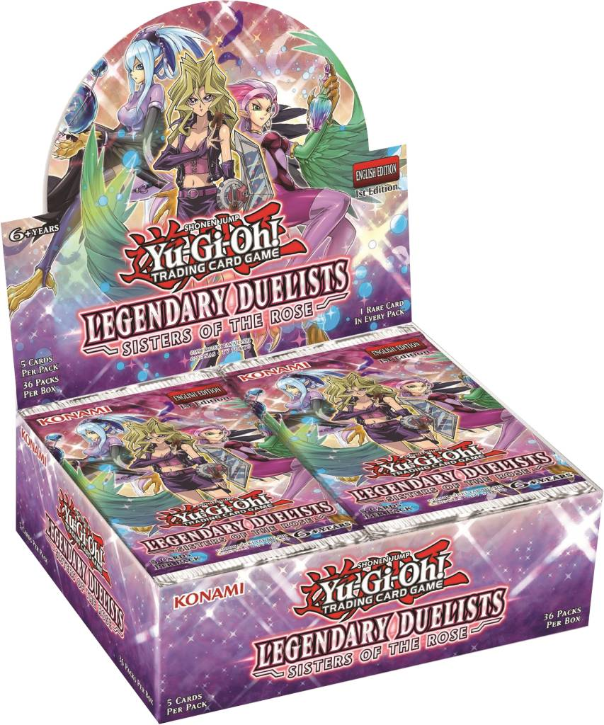 YGO Legendary Duelists Sisters of the Rose Booster Box