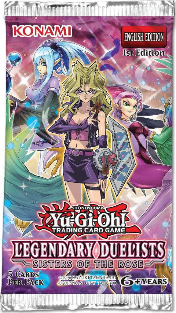 YGO Legendary Duelists Sisters of the Rose Booster Pack