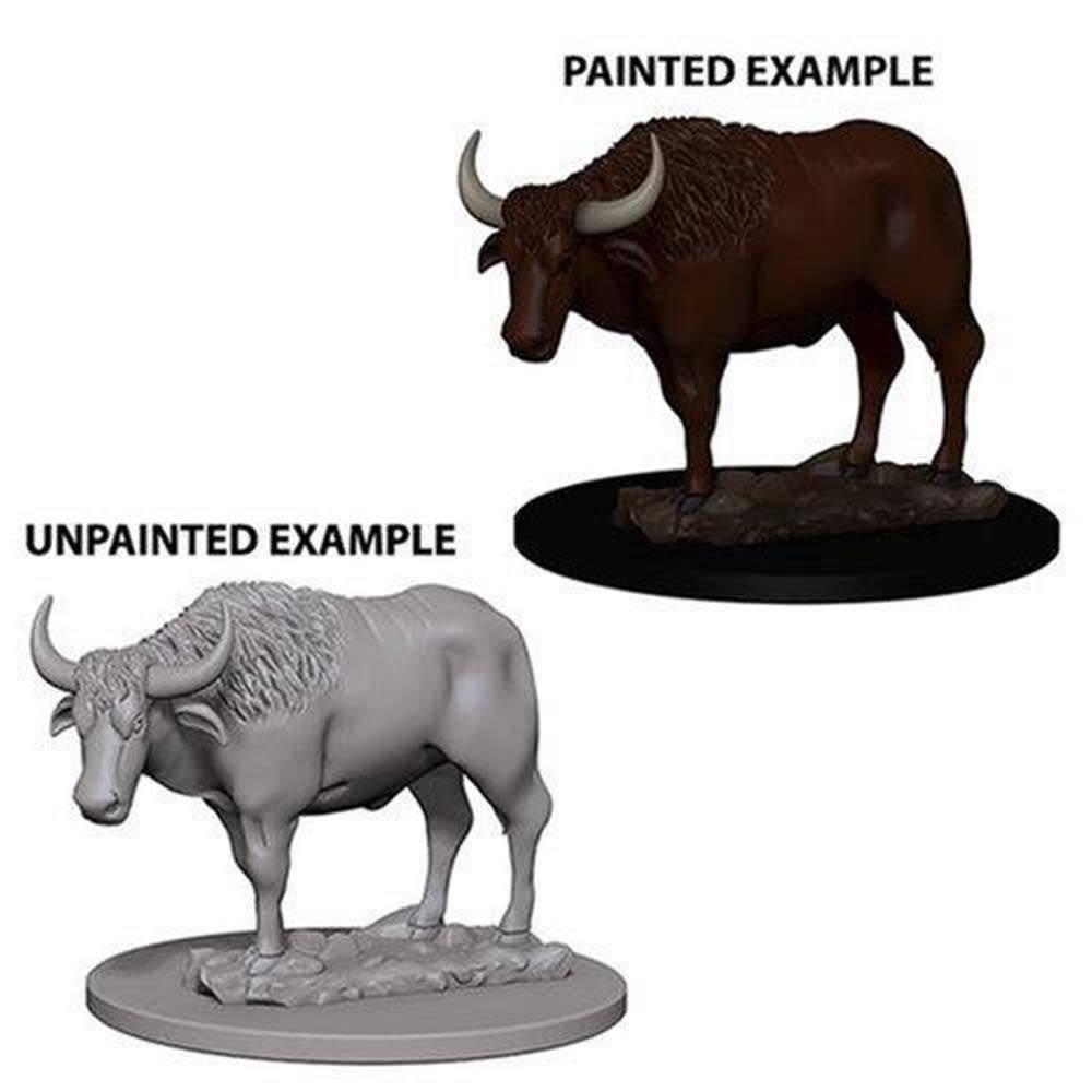 Wizkids Unpainted Minis: Oxen