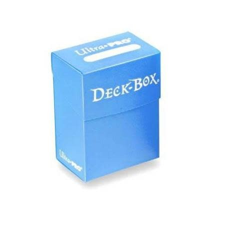 Deck Box Solid Blue