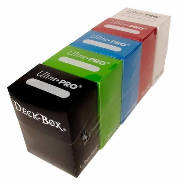 Deck Box Solid 5 Mana Colours Bundle