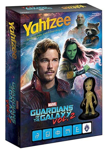 Yahtzee: Guardians of the Galaxy Vol.2