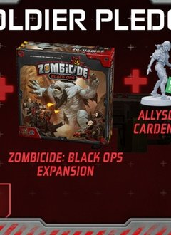 """Zombicide : Invaders """"Soldier Pledge"""" KS Edition (sold out)"""