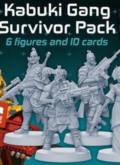 Zombicide Invaders : Kabuki Gang Survivors Pack (max 12 spec. ord.)