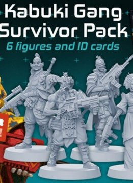 Zombicide Invaders : Kabuki Gang Survivors Pack (max 12 spec. ord.)