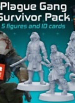 Zombicide Invader: Plague Gang Survivors Pack