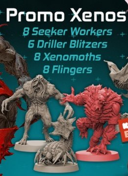 Zombicide Invader: Promo Xenos