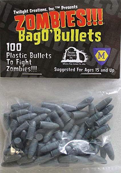 Zombies Bag of 100 plastic