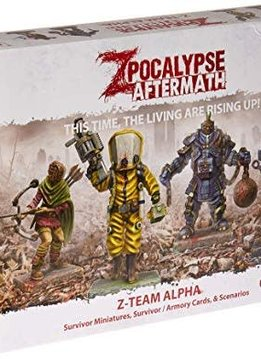 Zpocalypse Aftermath Z-Team Alpha