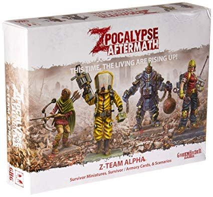 Zpocalypse Aftermath Z-Team Alpha