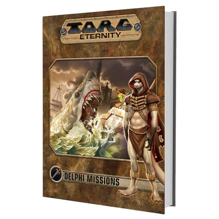 Torg Eternity: Delphi Missions Living Land