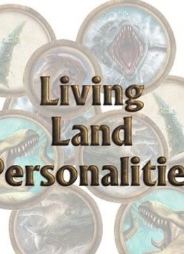 Torg Eternity - Living Land Personalities