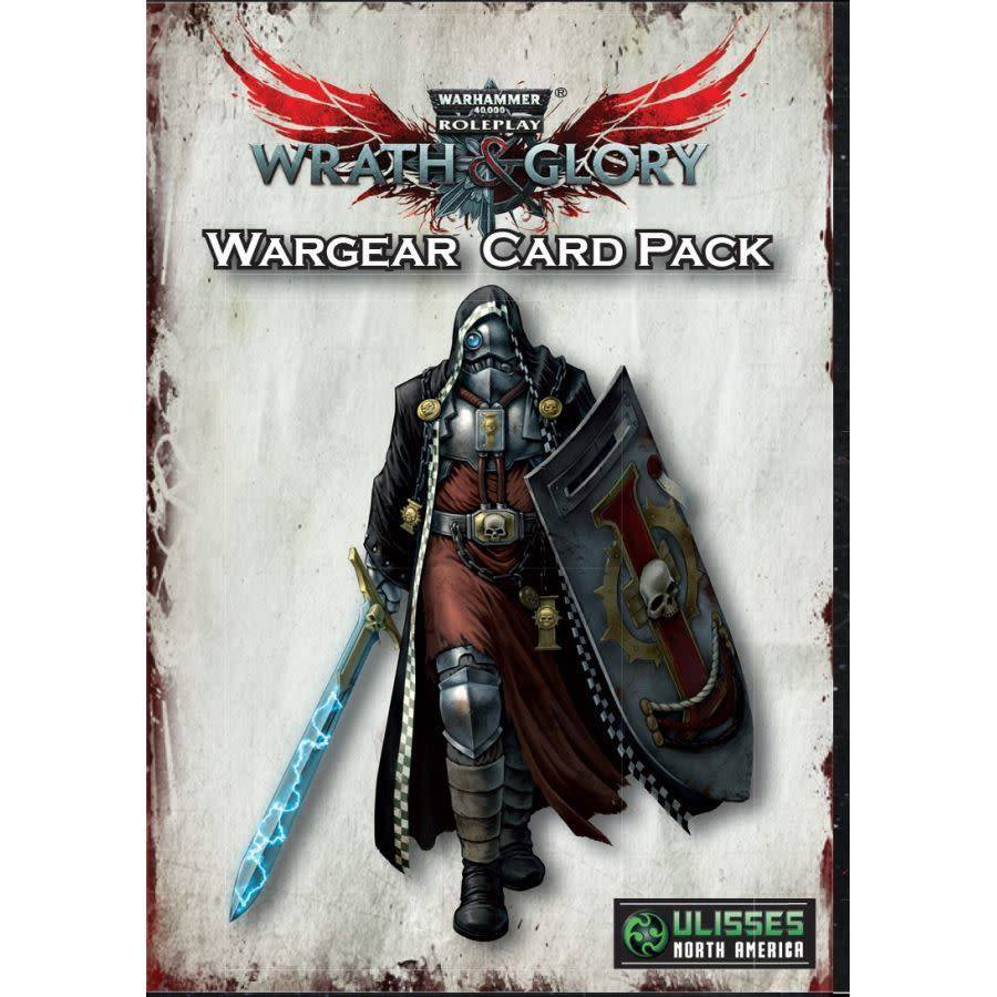 Warhammer 40K Wrath and Glory Wargear Card Pack