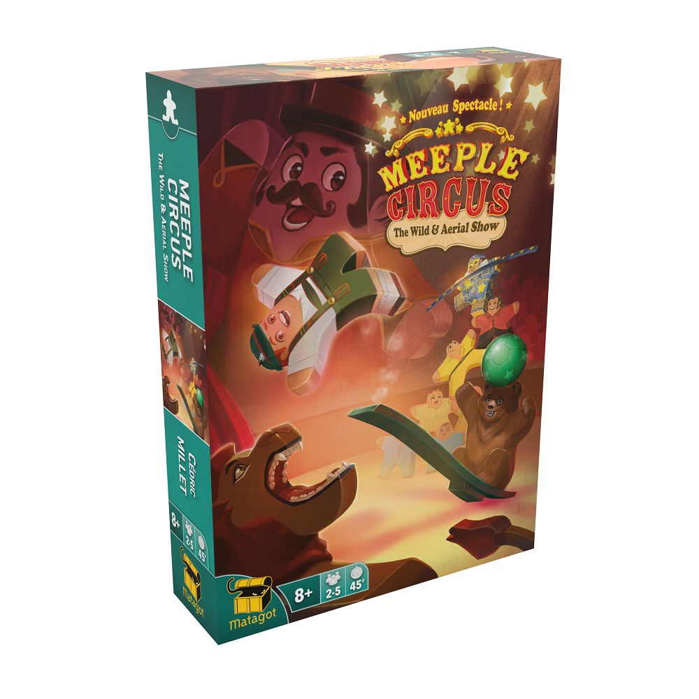 Meeple Circus ext. Animaux (FR)