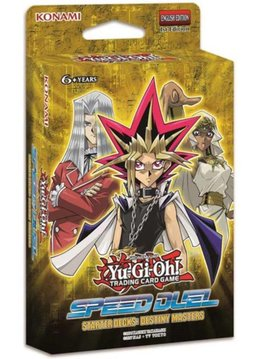 YGO Speed Dueling Destiny Masters Starter Deck