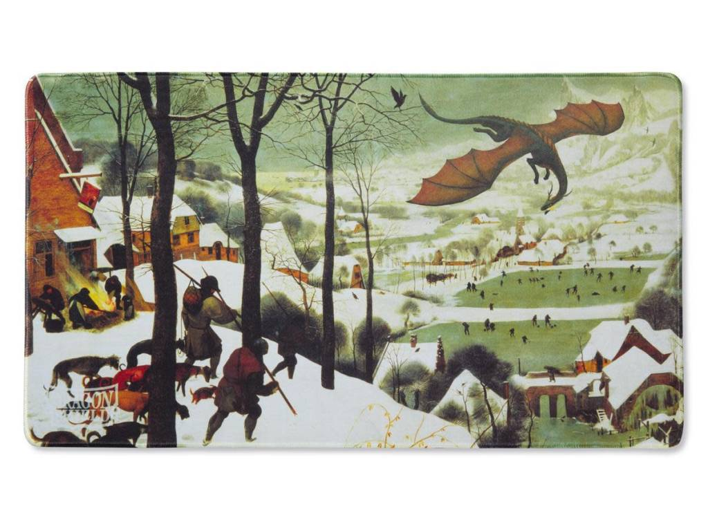 Dragon Shield Playmat Hunters in the Snow
