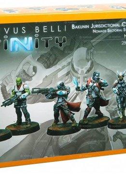 Infinity: Nomads Bakunin Jurisdictional Command (Nomads Sectorial Starter Pack)